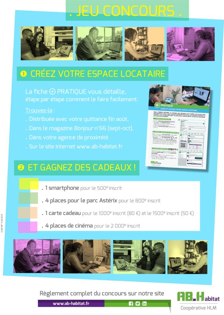 espace locataire affiche jeu concours site 732x1030 - AB-Habitat