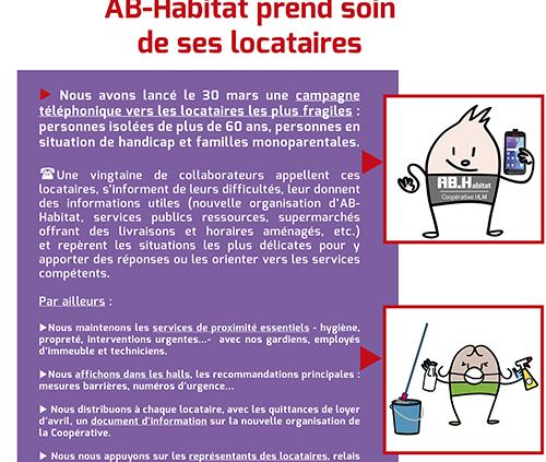 AB Habitat prend soin de ses locataires 1er avril 2020 def actuinternet linkedin facebook 500x423 - AB-Habitat