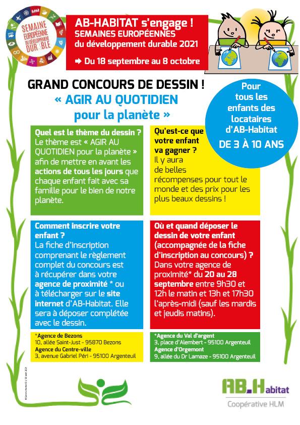 affiche concours dessin 300821 - AB-Habitat